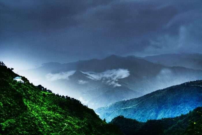 Mussoorie, one of the best weekend getaway from Delhi in monsoon