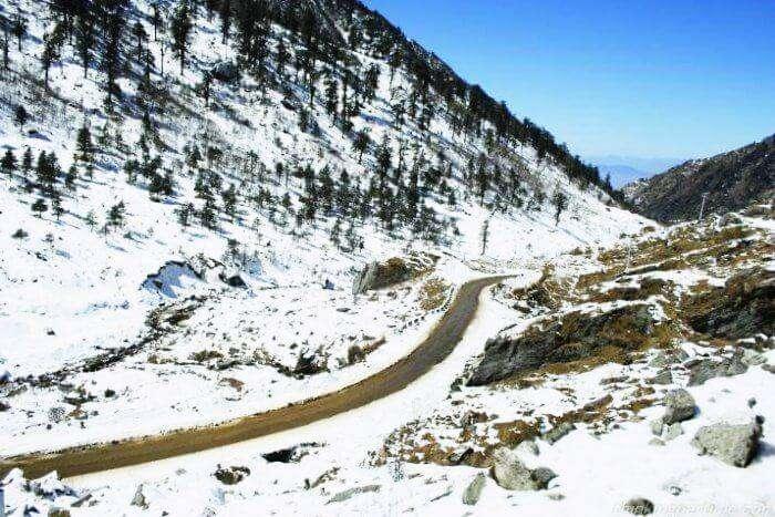 Nathu La Pass in Sikkim