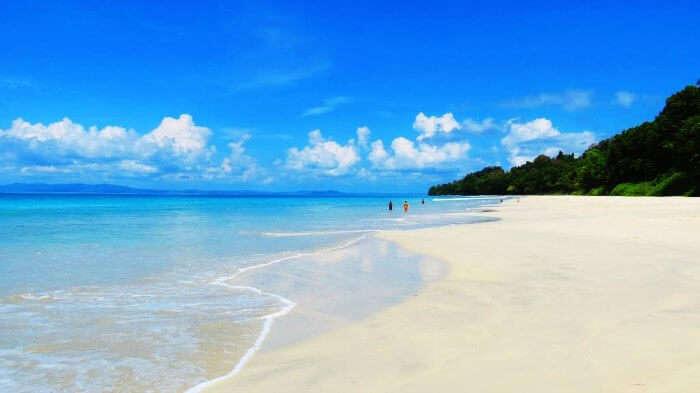 Radhanagar Beach, the best beach in India
