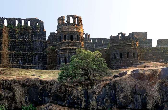 View of Raigad Fort