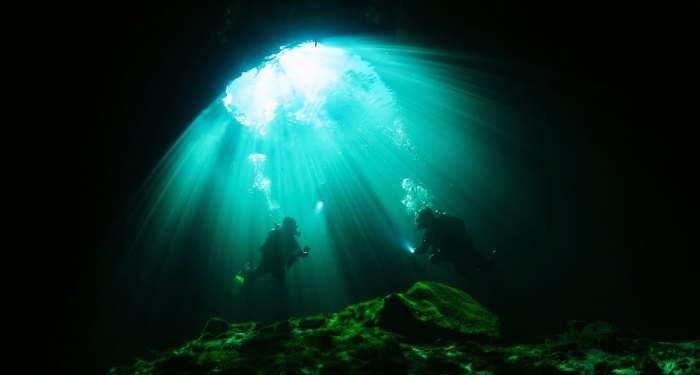 Riviera Maya in Mexico is one of the best diving places in the world