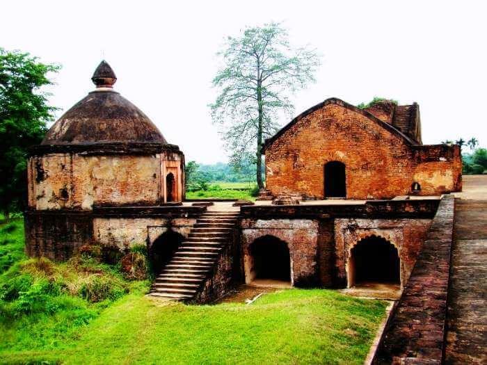 The secret tunnels of Talatal Ghar