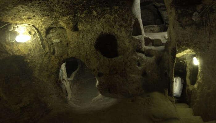 underground cities of Kaymaklı