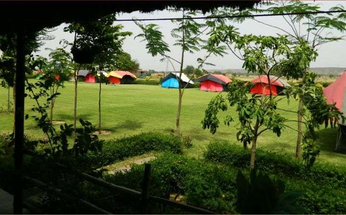 Camp Mustang in Sohna, Gurgaon