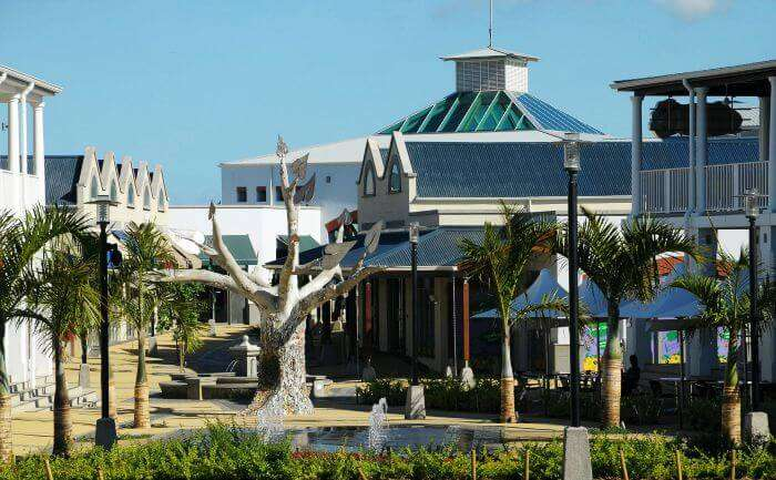 Cascavelle Shopping Centre at Flic En Flac in Mauritius