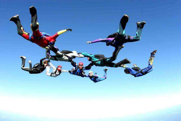 Challenge the adventurer in you with an accelerated free fall in Deesa - Gujrat