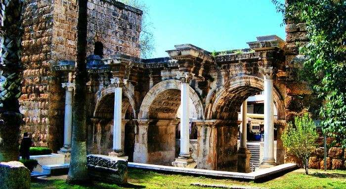 Hadrian's Gate – one of the main entry gates to Antalya