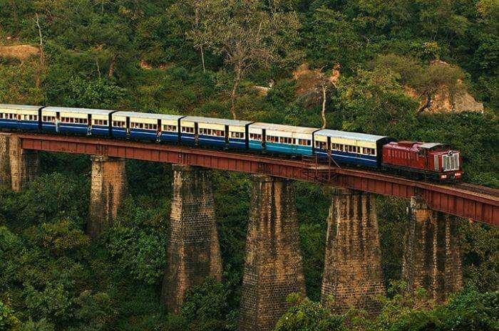 Himalayan Railway enroute Jogindernagar
