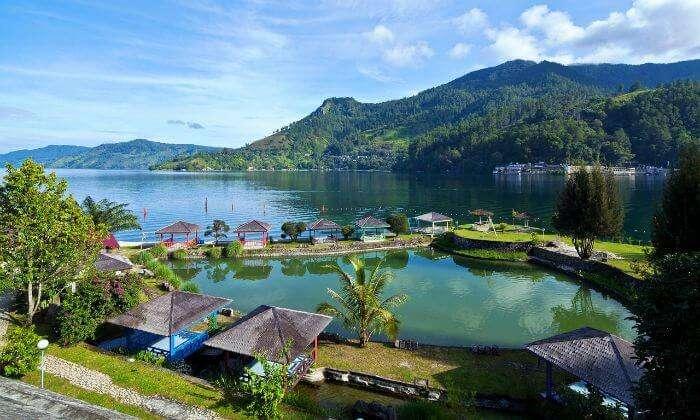 A gorgeous view of Lake Toba
