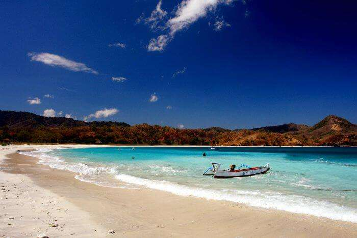 Maluk Beach is a beautiful place in Indonesia