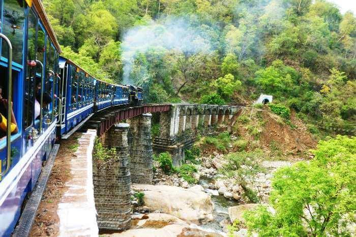 Nilgiri Passenger's journey from Mettupalayam to Ooty is a scenic one