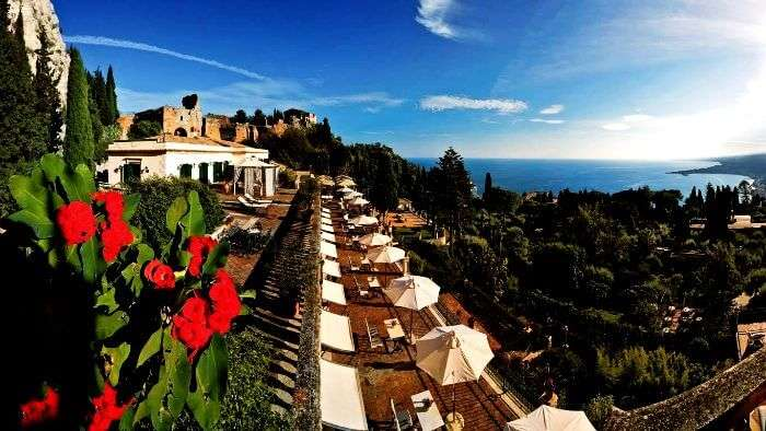 The Literary Terrace in Sicily