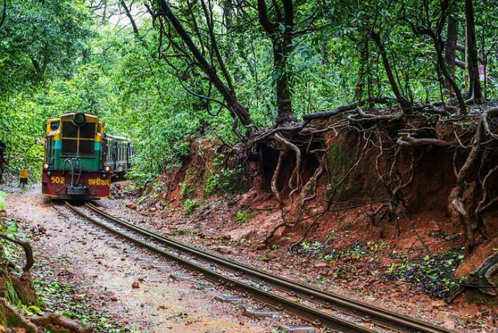 Train from Matheran to Neral