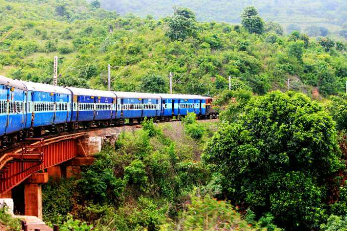One of the most fascinating train journeys in India is from Visakhapatnam to Araku Valley