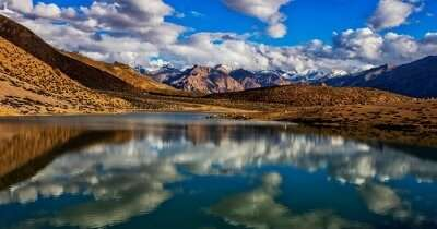a beautiful lake in Spiti