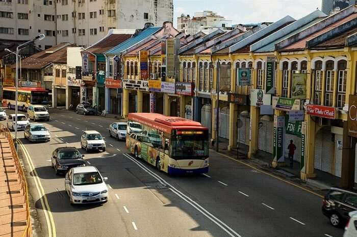 George Town - home to some of the best Malaysia tourist places