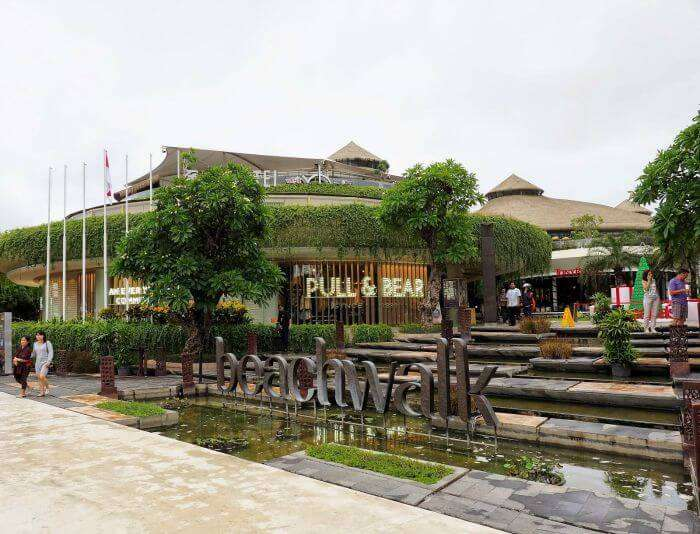 Kuta Beachwalk is the newest addition to Bali shopping centers