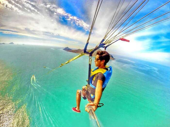 Parasailing in India_22nd oct