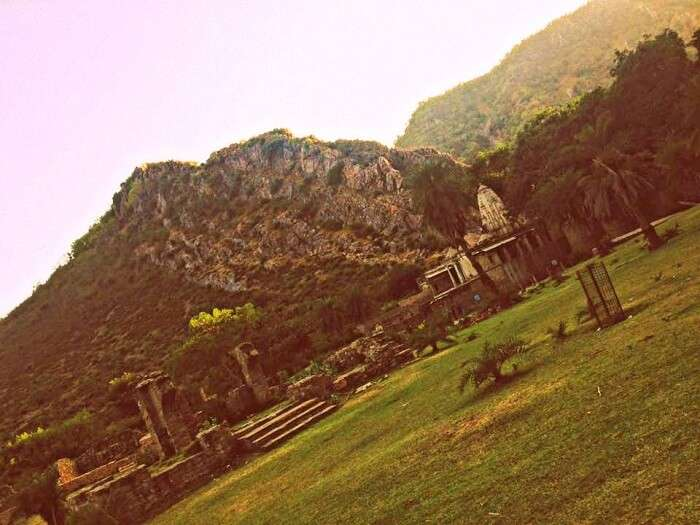 The spooky Bhangarh Fort