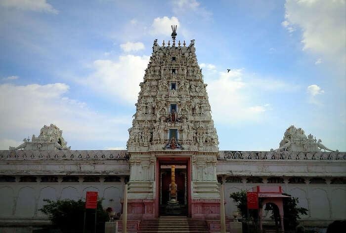 The main entry of Bramha Temple