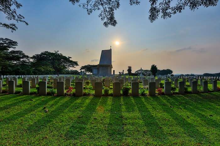 Kranji War Memorial is one of the top historical places in Singapore