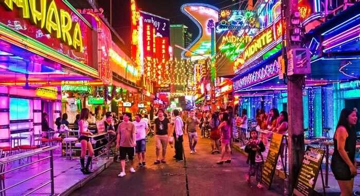 Amalgamation of bars and makeout centres