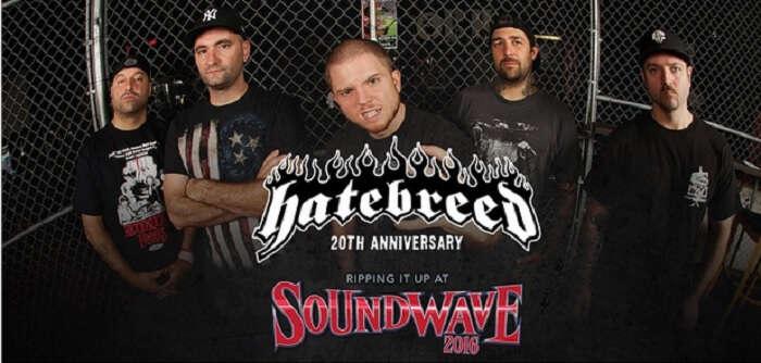 Official poster of Soundwave Festival 2016