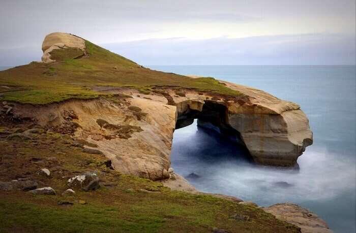 Tunnel Beach – Dunedin, South Island