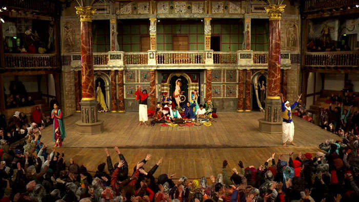 An ongoing performance at the Twelfth Night theatre