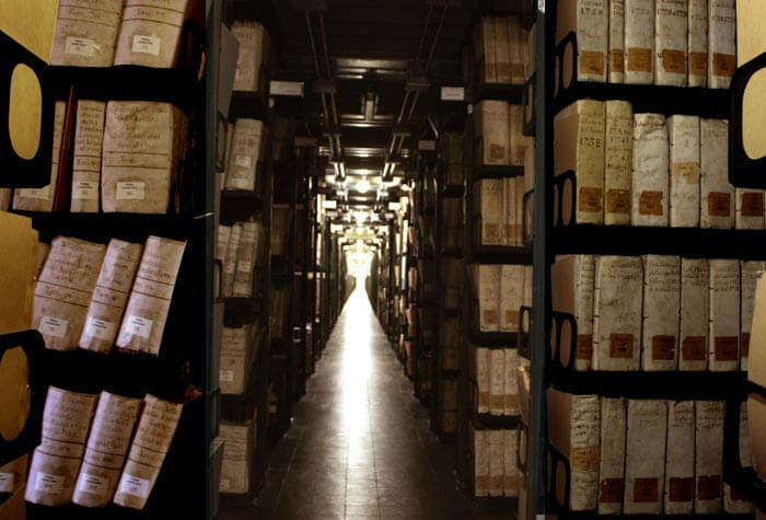 Vatican Secret Archives - Property of the Pope