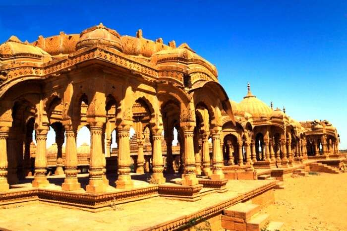 One of the most beautiful places to visit in jaisalmer is Bada Bagh