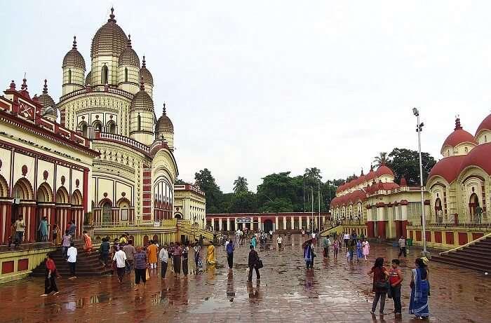 Kali temple at Dakshineshwar near Kolkata