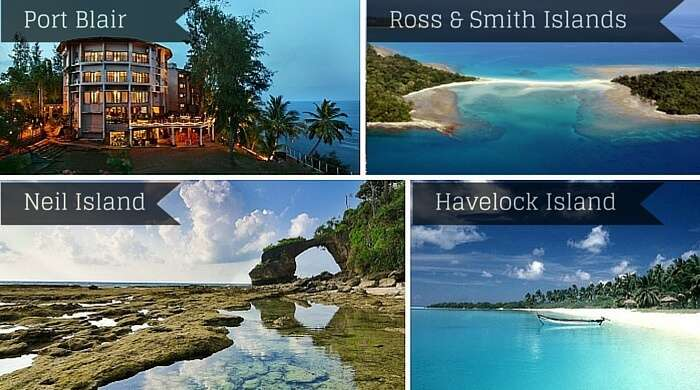 Many places in Andaman are named after British officials