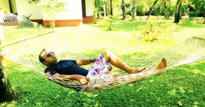 An engineer relaxing on his Kerala trip