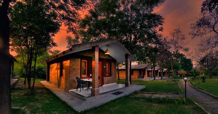 Kikar lodge is one of the most beautiful resorts near Chandigarh