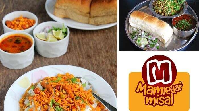 Misal Pav is a popular Bombay street food