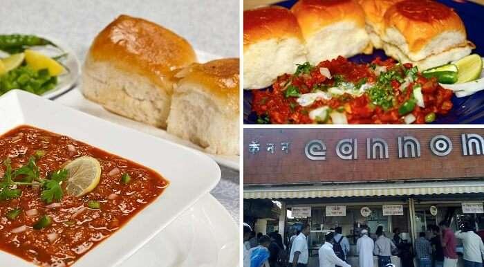 Pav Bhaji is another popular street food of Mumbai