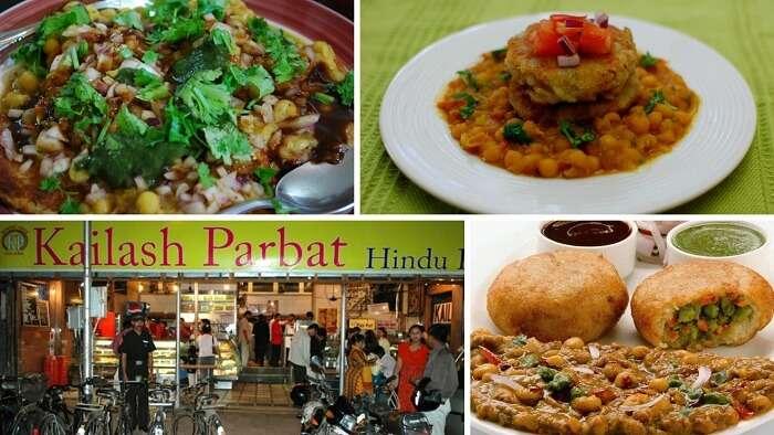 Kailash Parbat in Colaba sells the best Ragda Pattice