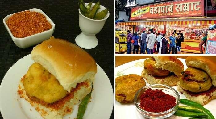 Vada Pav at Sharmajees is one of the best Mumbai street food