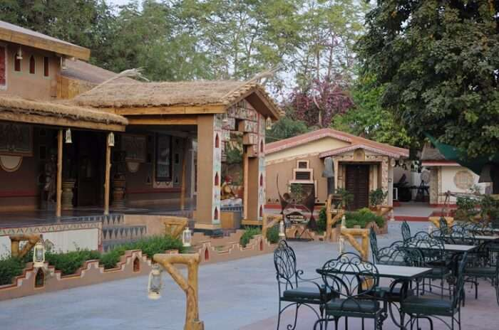 Chokhi Dhani is an authentic resort in Jaipur