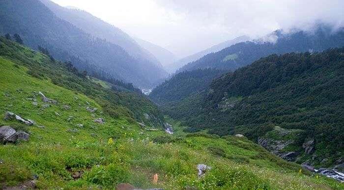 The unexplored Valley near Chamba