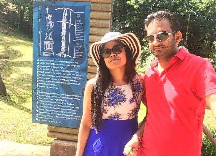 Ramandeep's Mauritius Tour