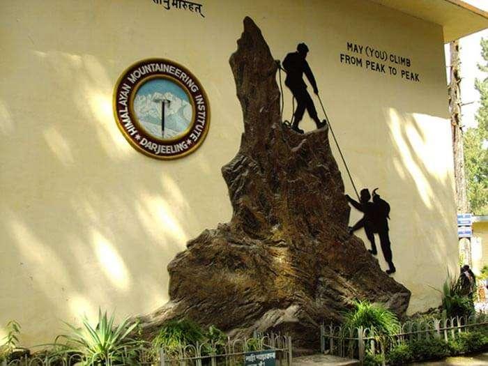 The Himalayan Mountaineering Institute at Jawahar Parvat, Darjeeling