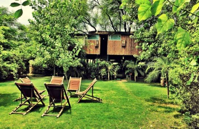 Tree House Resort is considered to be a popular choice among the people looking for unique sort of resorts in Jaipur