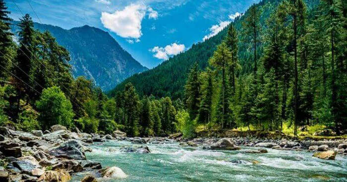 Parvati River in Kasol is the soul of the hash village