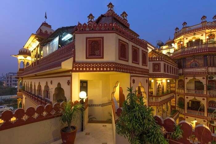 Exteriors Umaid Bhawan Heritage House Hotel in Jaipur