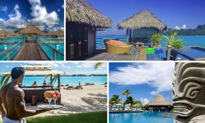 Many views from the St Regis Resort in Bora Bora