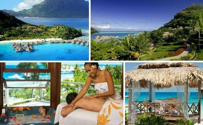 Many views from the Hilton Resort in Bora Bora