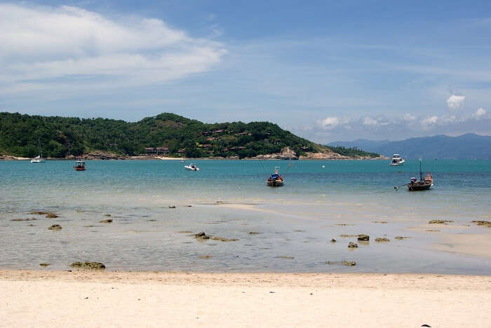 A snap of the sea clicked from the Chong Mon Beach