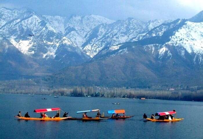 The beautiful Srinagar in Kashmir